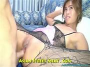 Sexo anal con su pornochacha tailandesa